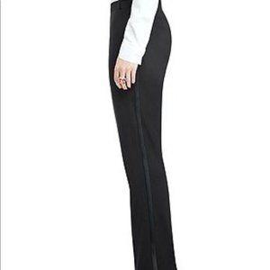 Theory Black Wool Tuxedo Dress Pants Size 6